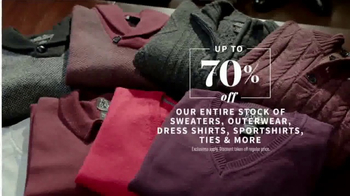JoS. A. Bank Presidents Day Sale TV Spot, 'Suits, Sport Coats & Sweaters' - Thumbnail 6