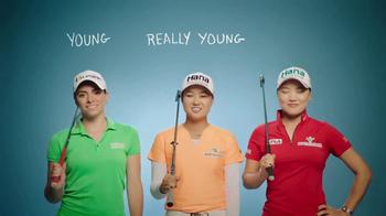 LPGA TV Spot, 'Describe a Champion Golfer: Young' - Thumbnail 8