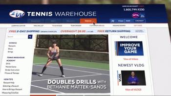 Tennis Warehouse TV Spot, 'Doubles Drills' Featuring Bethanie Mattek-Sands - Thumbnail 7