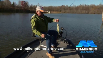 Millennium Marine Fishing Double Seat TV Spot, 'New Ideas' Feat. Bill Dance - Thumbnail 5