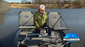 Millennium Marine Fishing Double Seat TV Spot, 'New Ideas' Feat. Bill Dance - Thumbnail 3