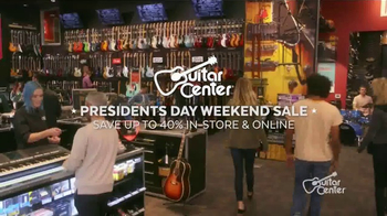 Guitar Center Presidents Day Weekend Sale TV Spot, 'Acoustic-Electric Guitars' - Thumbnail 2
