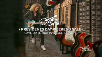 Guitar Center Presidents Day Weekend Sale TV Spot, 'Acoustic-Electric Guitars' - Thumbnail 3