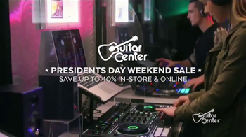 Guitar Center Presidents Day Weekend Sale TV Spot, 'Acoustic-Electric Guitars' - Thumbnail 4