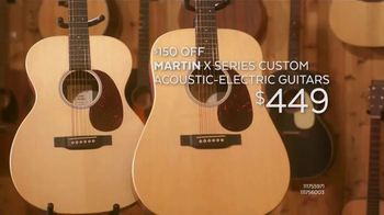 Guitar Center Presidents Day Weekend Sale TV Spot, 'Acoustic-Electric Guitars' - Thumbnail 5