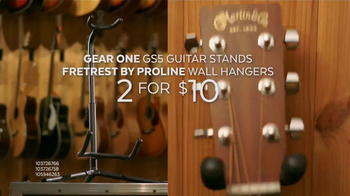 Guitar Center Presidents Day Weekend Sale TV Spot, 'Acoustic-Electric Guitars' - Thumbnail 7