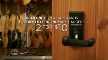 Guitar Center Presidents Day Weekend Sale TV Spot, 'Acoustic-Electric Guitars' - Thumbnail 8