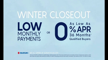 Suzuki Winter Closeout TV Spot, 'Lowest Payment Offers' - Thumbnail 8