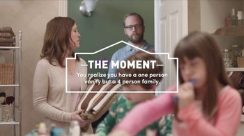 Lowe's Kitchen & Bath Event TV Spot, 'The Moment: Vanity' - 2719 commercial airings