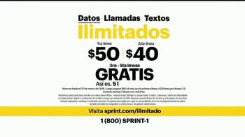 Sprint TV Spot, 'Una compañía como la mía' [Spanish] - Thumbnail 7