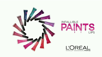 L'Oreal Paris Infallible Lip Paints TV Spot, 'Alto impacto' [Spanish] - Thumbnail 2