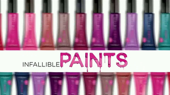 L'Oreal Paris Infallible Lip Paints TV Spot, 'Alto impacto' [Spanish] - Thumbnail 7