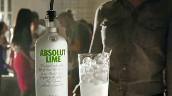 Absolut Lime TV Spot, 'Have A Lime Drop' - Thumbnail 1