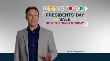 Rooms to Go Presidents Day Weekend TV Spot, 'Giant Values' - Thumbnail 10