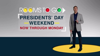 Rooms to Go Presidents Day Weekend TV Spot, 'Giant Values' - Thumbnail 2