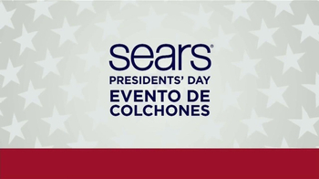 Sears Presidents Day Evento de Colchones TV Spot, '20 modelos' [Spanish] - Thumbnail 1