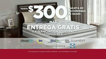 Sears Presidents Day Evento de Colchones TV Spot, '20 modelos' [Spanish] - Thumbnail 3