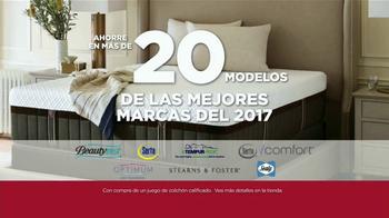 Sears Presidents Day Evento de Colchones TV Spot, '20 modelos' [Spanish] - Thumbnail 4