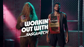 Jack Link's TV Spot, 'SasquatchWorkout: Vest' Featuring Karl-Anthony Towns - Thumbnail 2