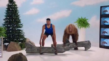 Jack Link's TV Spot, 'SasquatchWorkout: Workin' Out' Ft. Karl Anthony-Towns - 2054 commercial airings