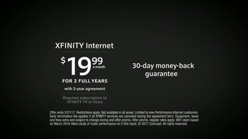 XFINITY Internet TV Spot, 'In-Home Wi-Fi Experience' Feat. Chris Hardwick - Thumbnail 6