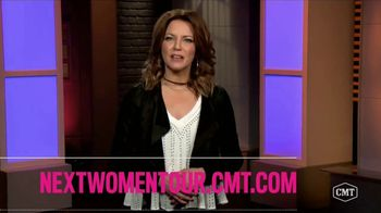 CMT 2017 Next Women of Country Tour TV Spot, 'Love Unleashed Tour'