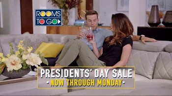 Rooms to Go Presidents Day Sale TV Spot, 'Great Savings' - Thumbnail 8