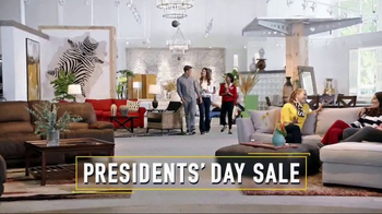 Rooms to Go Presidents Day Sale TV Spot, 'Great Savings' - Thumbnail 2