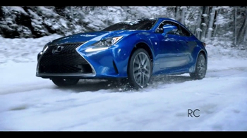 2016 Lexus IS 300 AWD TV Spot, 'Conquer the Weather' [T2] - Thumbnail 3