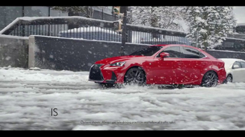 2016 Lexus IS 300 AWD TV Spot, 'Conquer the Weather' [T2] - Thumbnail 5