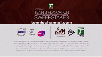 Charleston Tennis Playcation Sweepstakes TV Spot, 'Stay and Play'