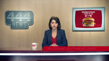 Wendy's 4 for $4 TV Spot, 'Double Stack Option: Flying Squirrels' - Thumbnail 3
