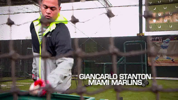 Major League Baseball TV Spot, 'Batting Cage' Featuring Giancarlo Stanton - Thumbnail 1