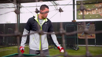 Major League Baseball TV Spot, 'Batting Cage' Featuring Giancarlo Stanton - Thumbnail 4