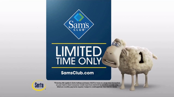 Sam's Club TV Spot, 'Serta Mattress Hot Buy' - Thumbnail 8