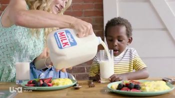 Milk Life TV Spot, 'USA Network: Breakfast' Featuring Cat Greenleaf - 10 commercial airings