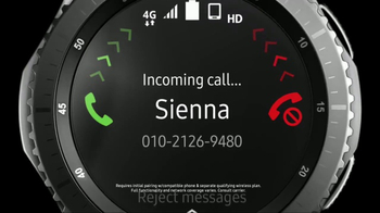 Samsung Gear S3 Frontier TV Spot, 'Leave Your Phone Behind' - Thumbnail 3