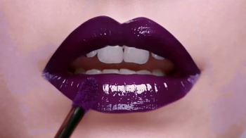 L'Oreal Paris Infallible Lip Paints TV Spot, 'High Impact'