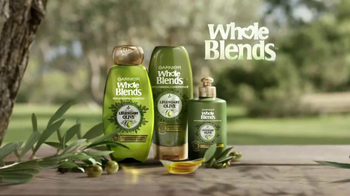 Garnier Whole Blends Legendary Olive TV Spot, \'Softens and Shines\'
