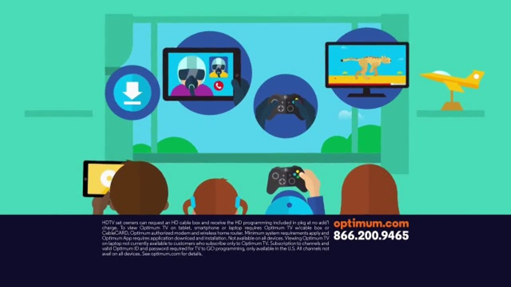 Optimum Triple Play Commercial Game Stream And Chat Ispot