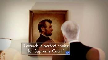 Judicial Crisis Network TV Spot, 'Gorsuch' - Thumbnail 2