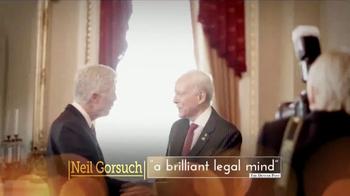 Judicial Crisis Network TV Spot, 'Gorsuch' - Thumbnail 9