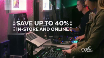 Guitar Center Presidents Day Weekend Sale TV Spot, 'House Party' - Thumbnail 7