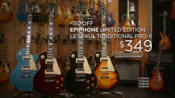 Guitar Center Presidents Day Weekend Sale TV Spot, 'Find Your Sound'