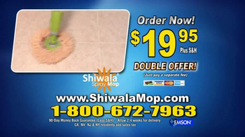 Shiwala Spray Mop TV Spot, 'Works Like Magic' - Thumbnail 9