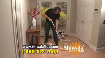 Shiwala Spray Mop TV Spot, 'Works Like Magic'