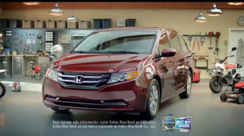 Honda Gran Venta El Garaje de Tus Sueños TV Spot, '2016 Odyssey' [Spanish] - Thumbnail 7