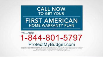 First American Home Buyers Protection Corporation TV Spot, 'Home Warranty' - Thumbnail 10