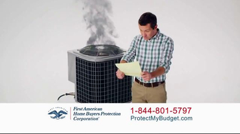 First American Home Buyers Protection Corporation TV Spot, \'Home Warranty\'
