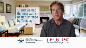 First American Home Buyers Protection Corporation TV Spot, 'Home Warranty' - Thumbnail 4